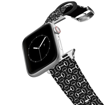 Bits Black Apple Watch Band Apple Watch Band C4 BELTS