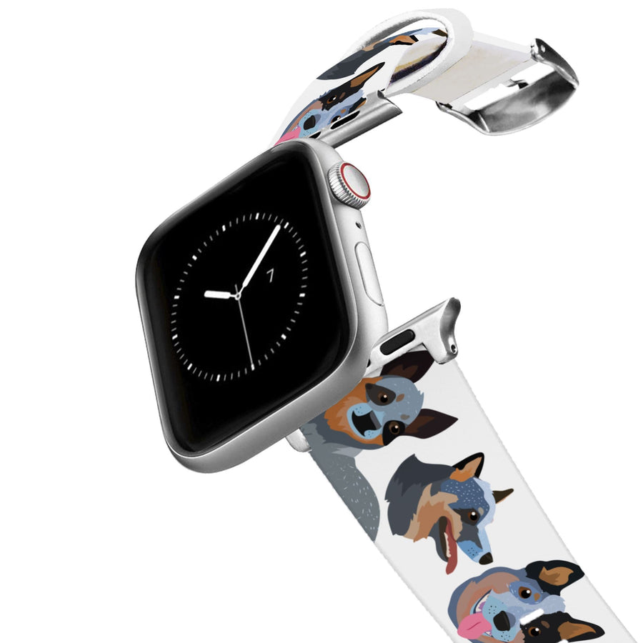 Blue Heeler Apple Watch Band Apple Watch Band C4 BELTS