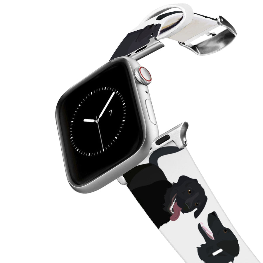 Black Lab Apple Watch Band Apple Watch Band C4 BELTS