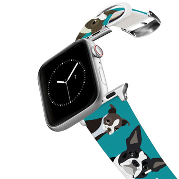 Boston Terrier Apple Watch Band Apple Watch Band C4 BELTS