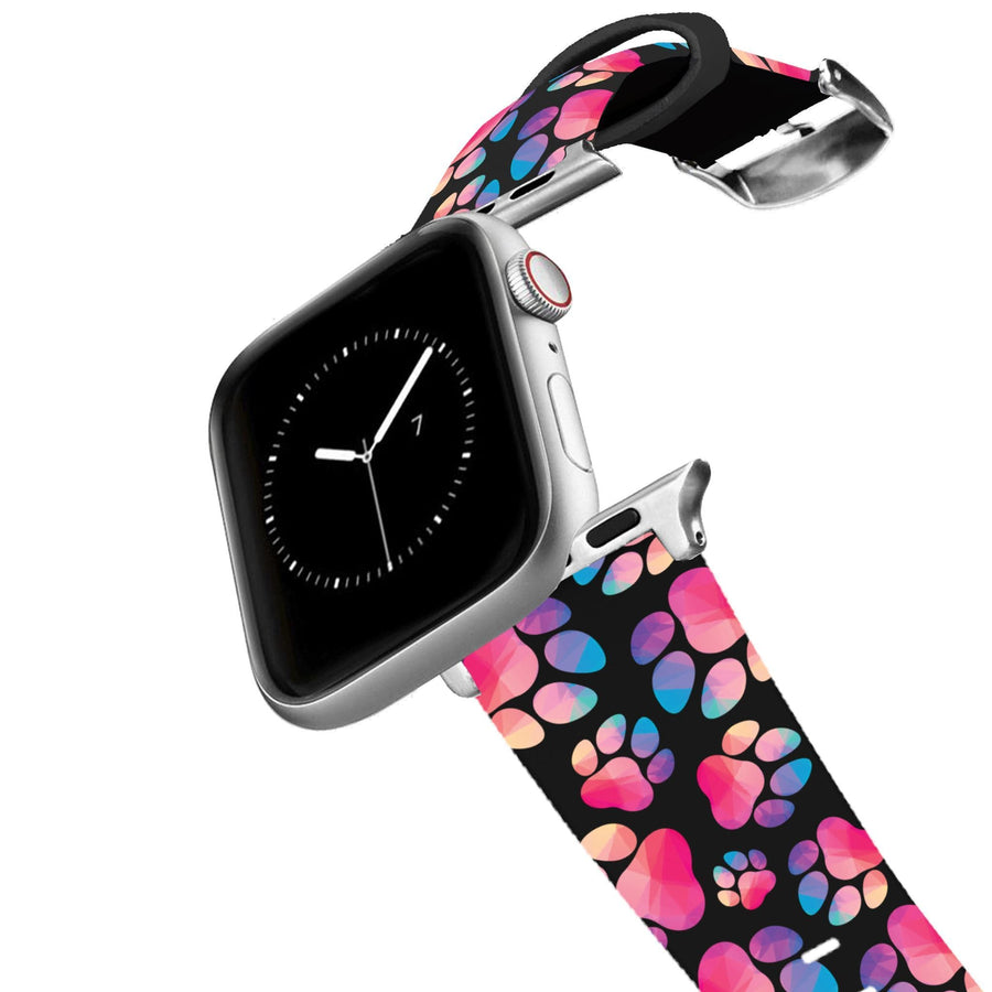 Paw Prints Geometric Apple Watch Band Apple Watch Band C4 BELTS