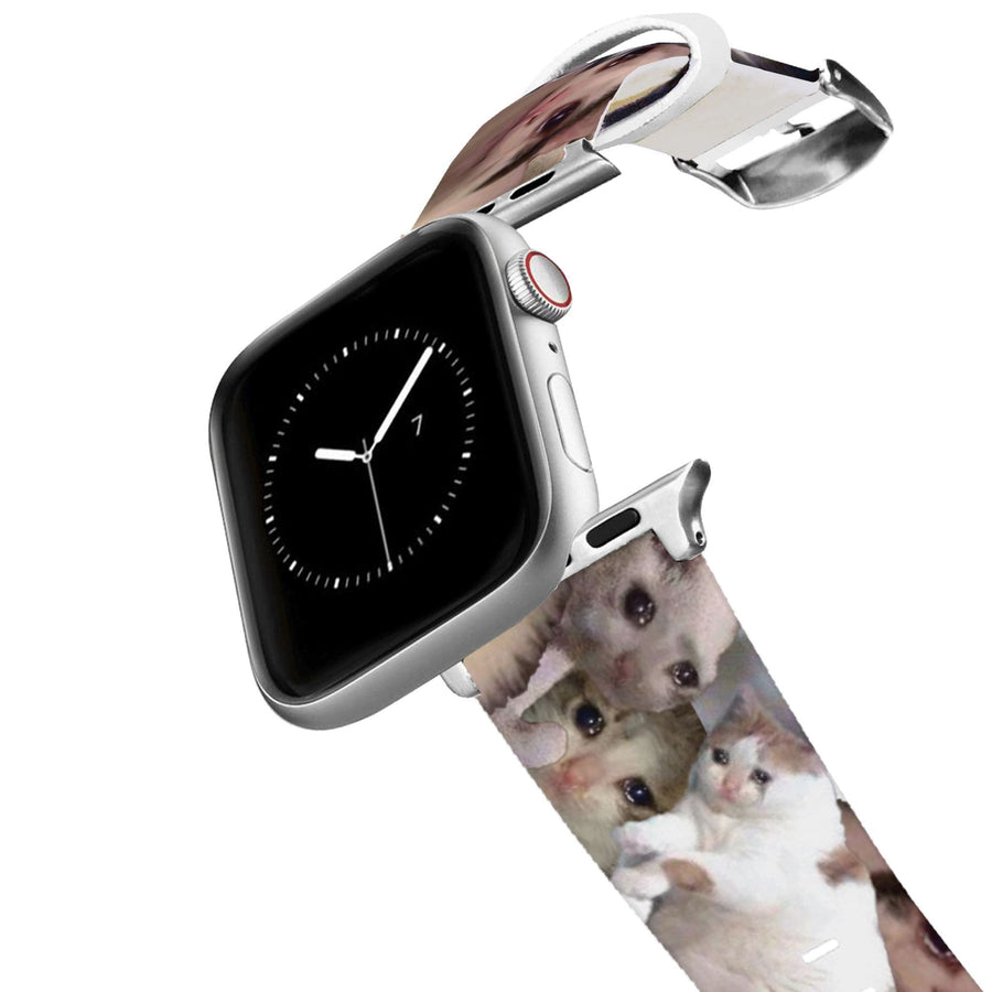Crying Cats Apple Watch Band Apple Watch Band C4 BELTS