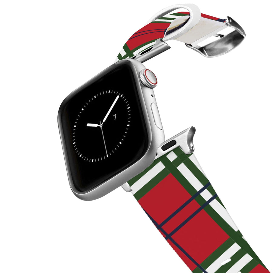 Holiday Plaid Apple Watch Band Apple Watch Band C4 BELTS