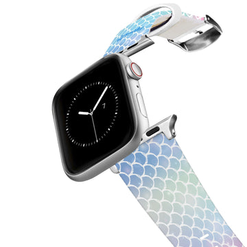 Mermaid Life - Rainbow Scales Apple Watch Band Apple Watch Band C4 BELTS