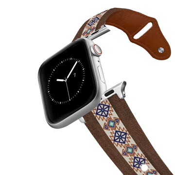 Aztec Leather Apple Watch Band Apple Watch Band - Leather C4 BELTS