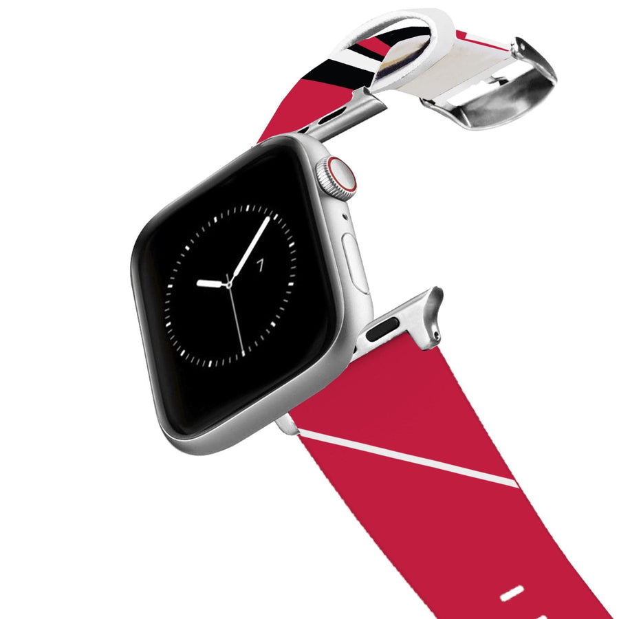 Chicago Bulls Color Block Team Spirit Apple Watch Band Apple Watch Band C4 BELTS