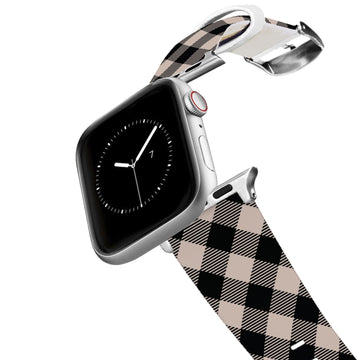Dusk Plaid Apple Watch Band Apple Watch Band C4 BELTS