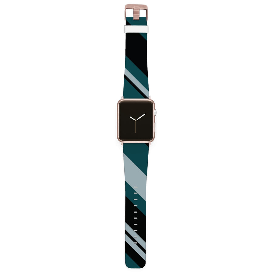 Philadelphia Football Color Block Team Spirit Apple Watch Band Apple Watch Band C4 BELTS