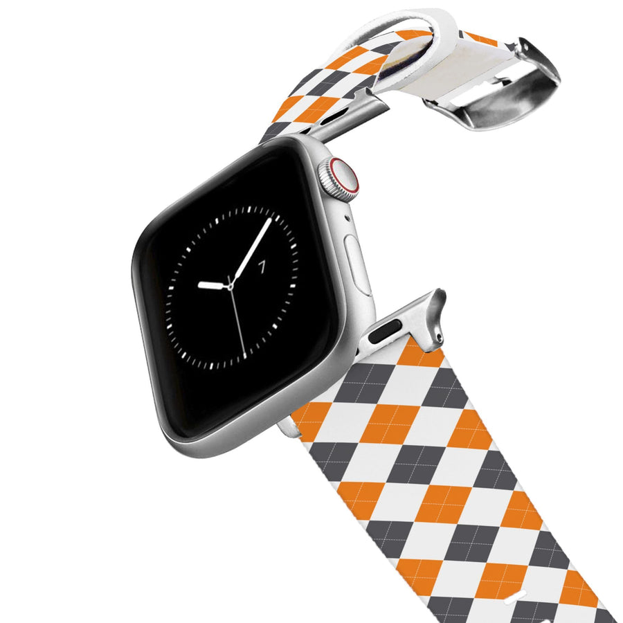 University of Tennessee Argyle Gameday Apple Watch Band Apple Watch Band C4 BELTS