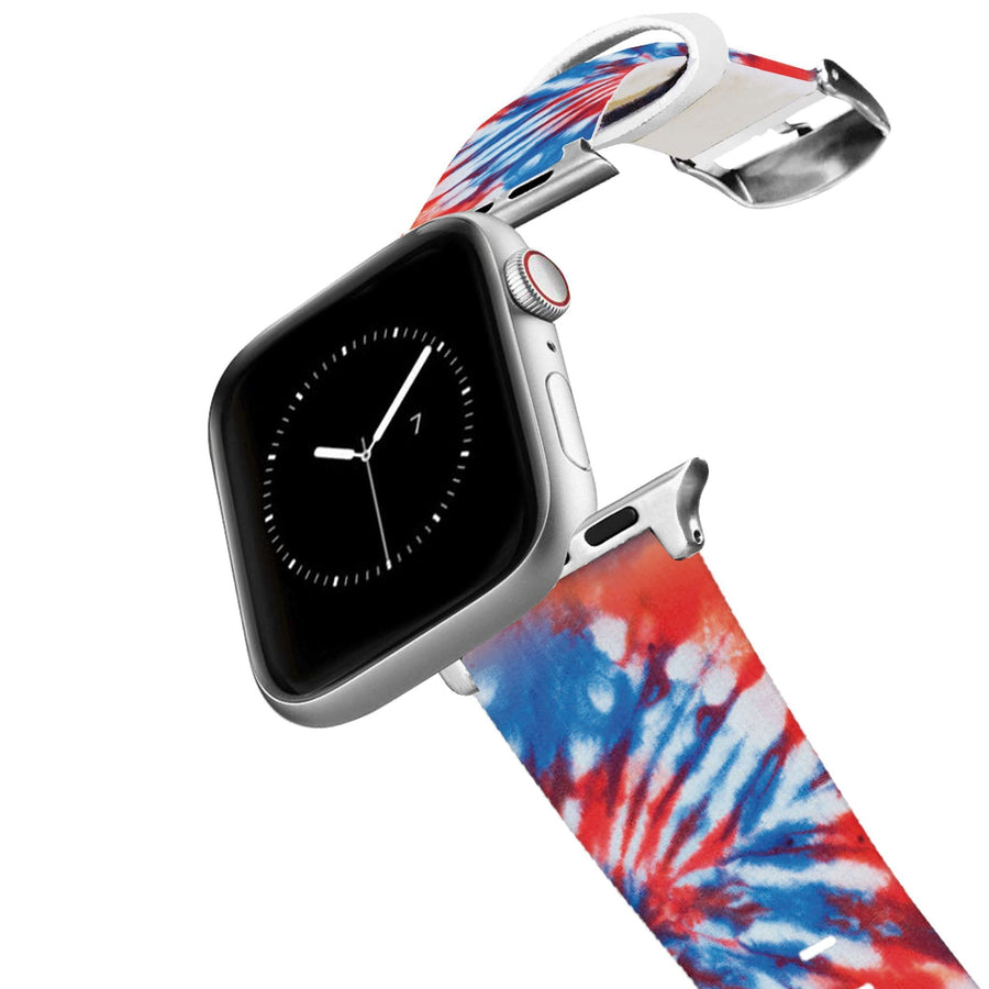 Americana Tie Dye Apple Watch Band Apple Watch Band C4 BELTS