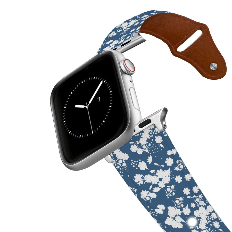 What In Carnation Leather Apple Watch Band Apple Watch Band - Leather C4 BELTS