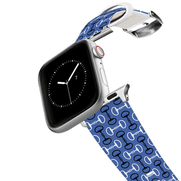 Bits Blue Apple Watch Band Apple Watch Band C4 BELTS