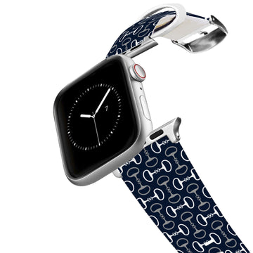 Bits Navy Apple Watch Band Apple Watch Band C4 BELTS