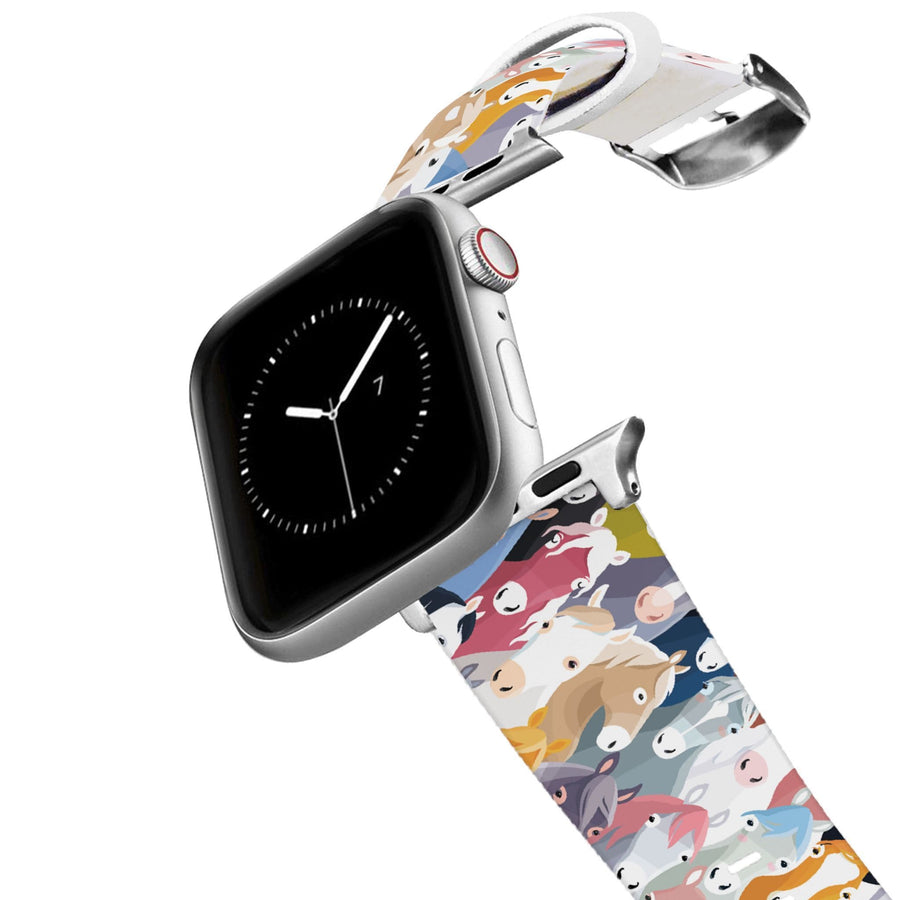 Horse Heads Apple Watch Band Apple Watch Band C4 BELTS