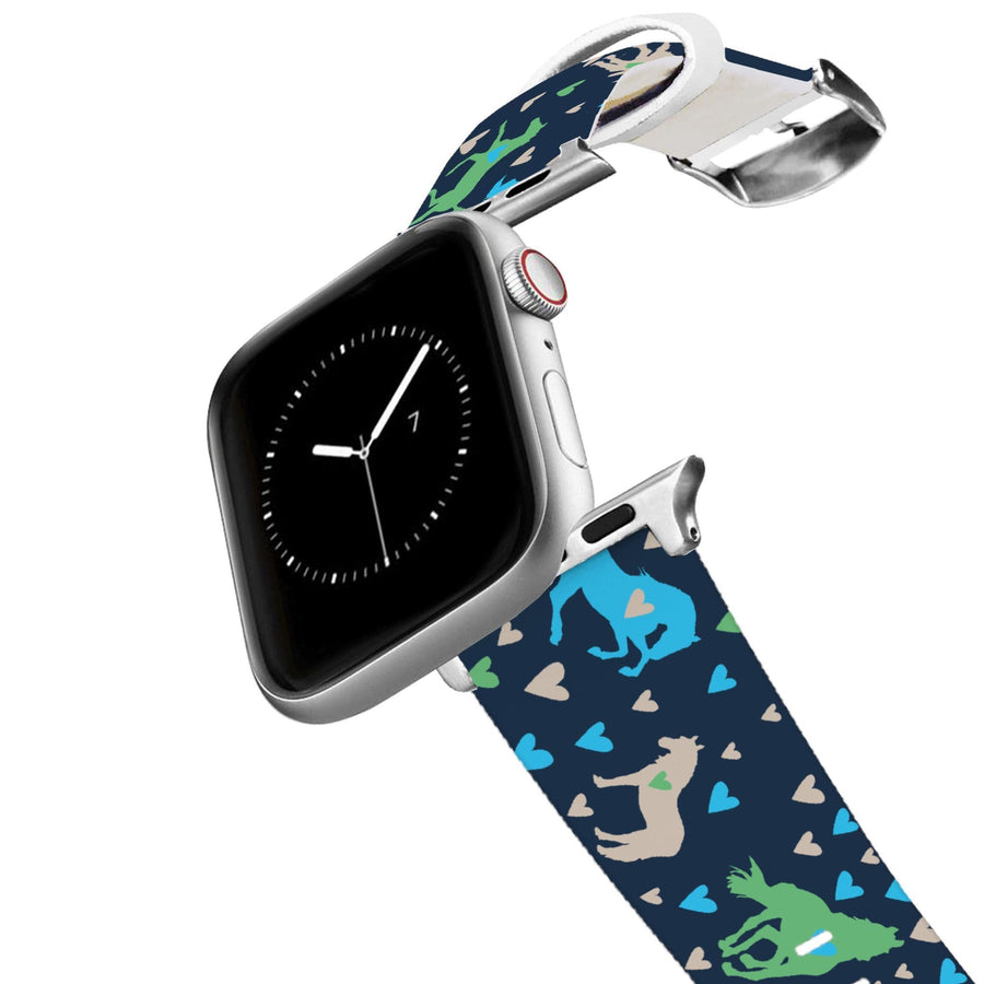 Pony Love Blue Apple Watch Band Apple Watch Band C4 BELTS