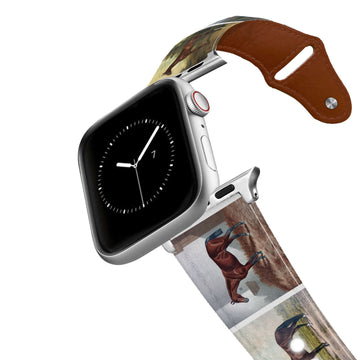 Vintage Horses Leather Apple Watch Band Apple Watch Band - Leather C4 BELTS