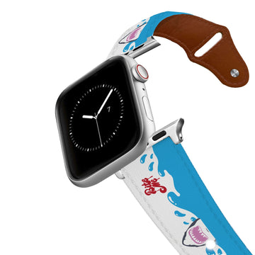 Bite Me Leather Apple Watch Band Apple Watch Band - Leather C4 BELTS