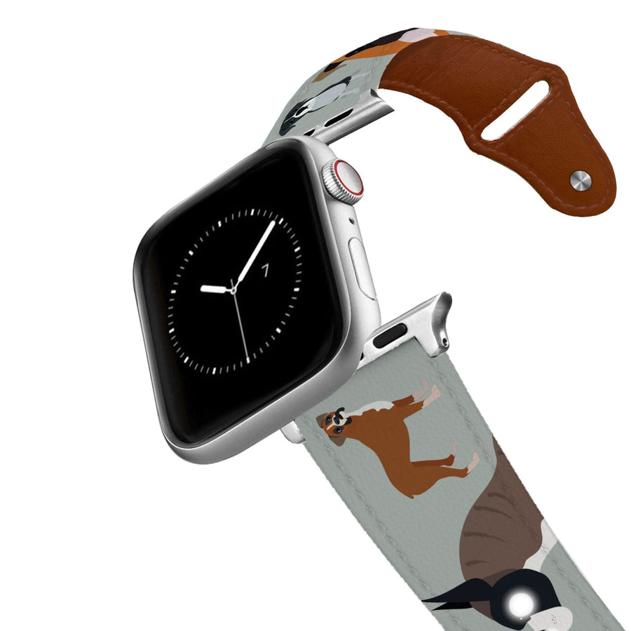 Boxer Leather Apple Watch Band Apple Watch Band - Leather C4 BELTS