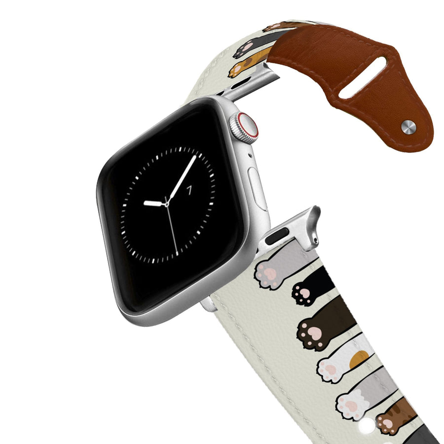 Cat Beans Leather Apple Watch Band Apple Watch Band - Leather C4 BELTS