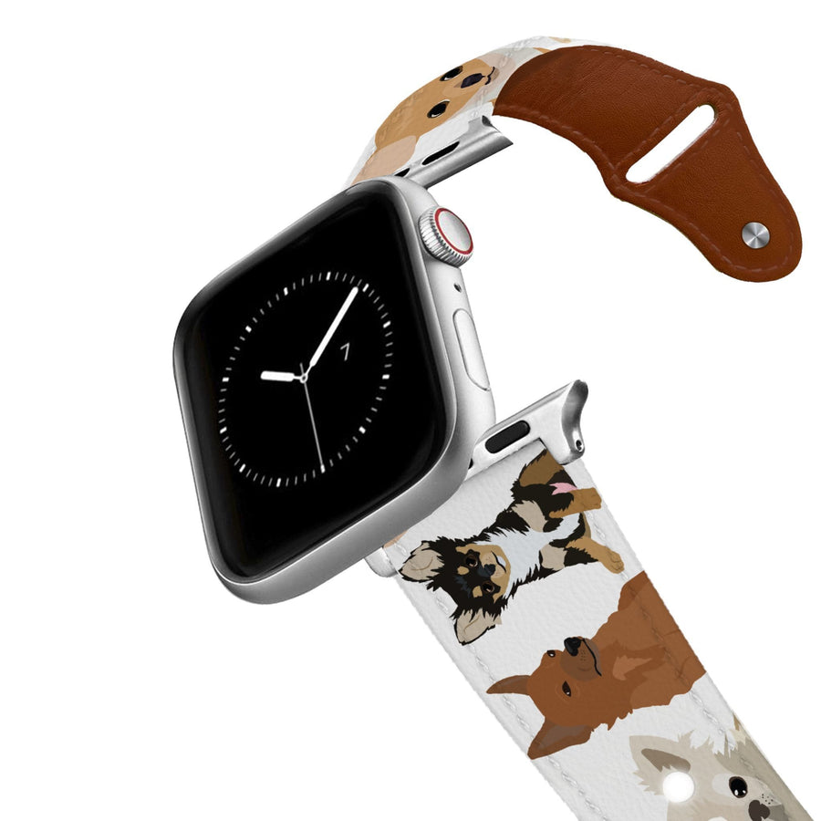 Chihuahua Leather Apple Watch Band Apple Watch Band - Leather C4 BELTS