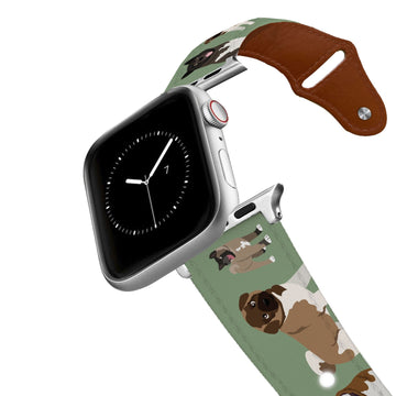 Akita Leather Apple Watch Band Apple Watch Band - Leather C4 BELTS