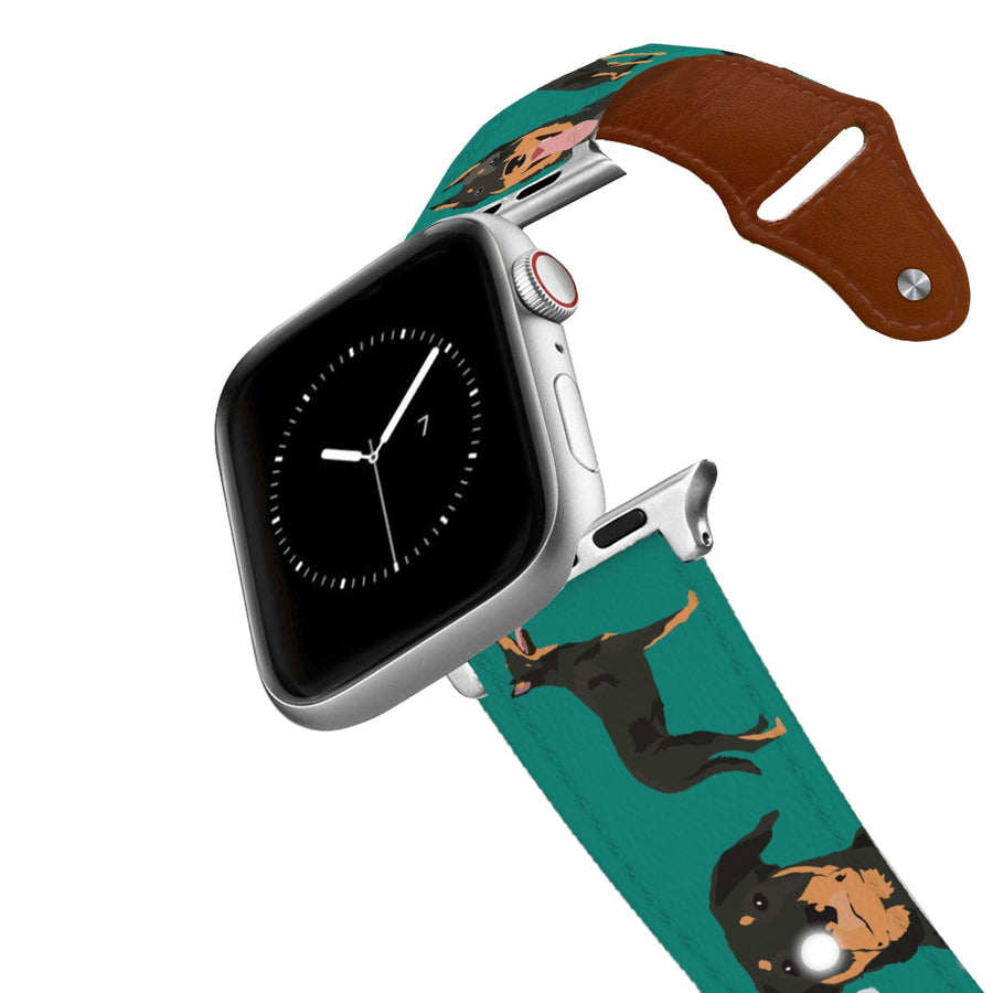 Beauceron Leather Apple Watch Band Apple Watch Band - Leather C4 BELTS