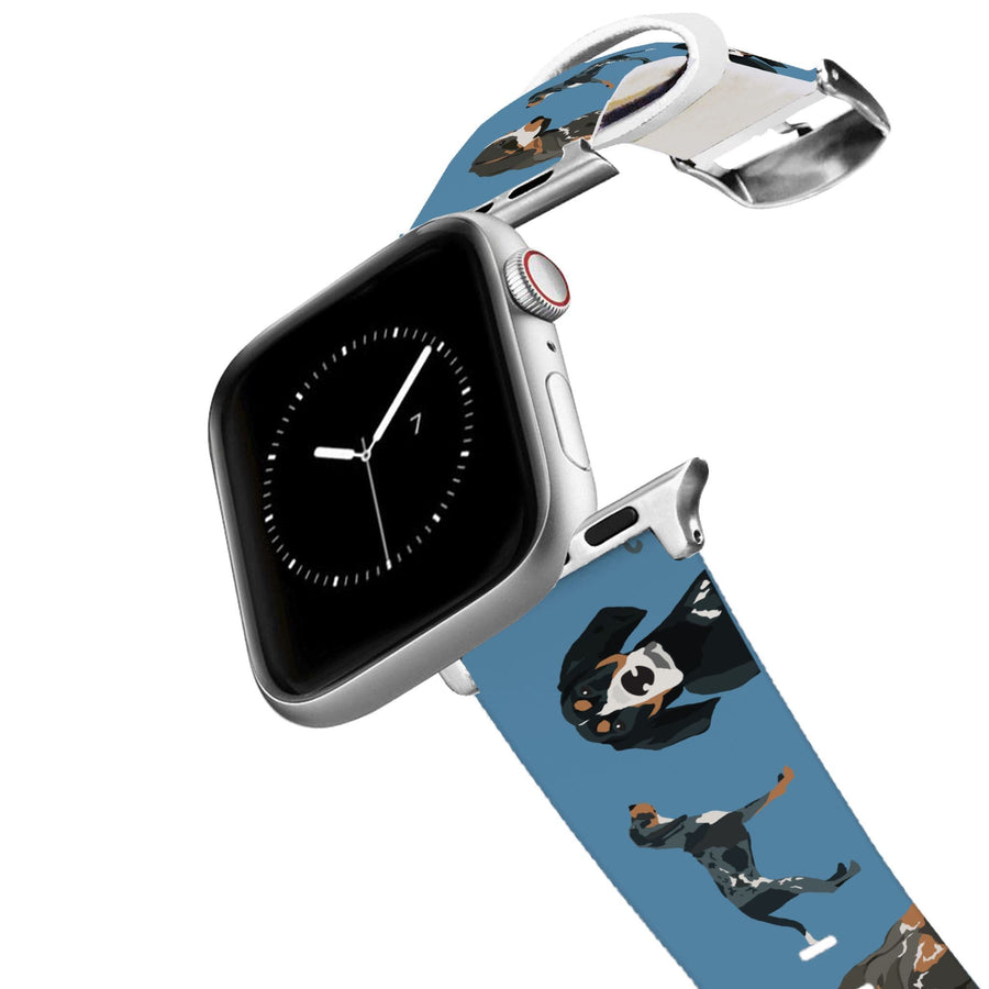 Bluetick Coonhound Apple Watch Band Apple Watch Band C4 BELTS