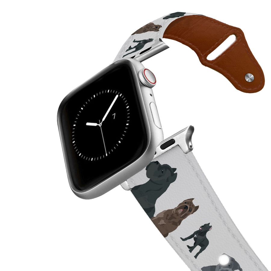 Cane Corso Apple Leather Watch Band Apple Watch Band - Leather C4 BELTS