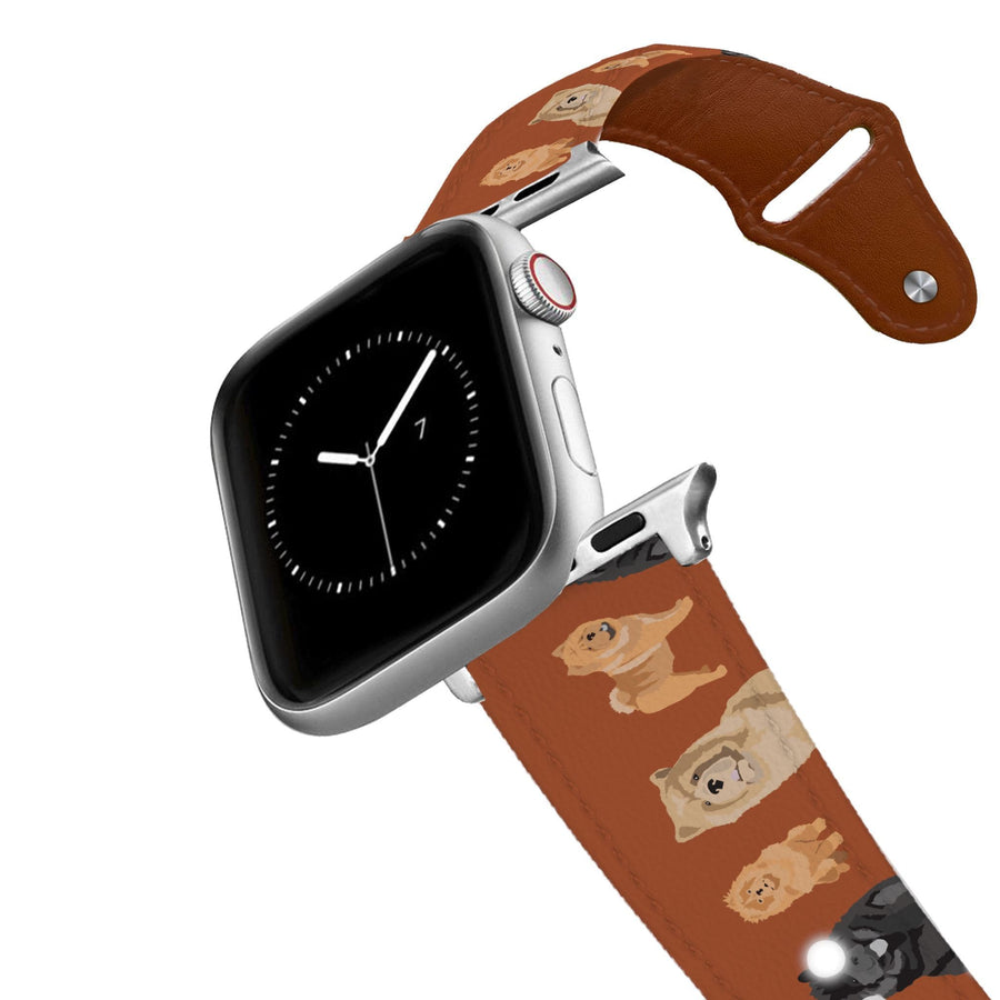 Chow Chow Leather Apple Watch Band Apple Watch Band - Leather C4 BELTS