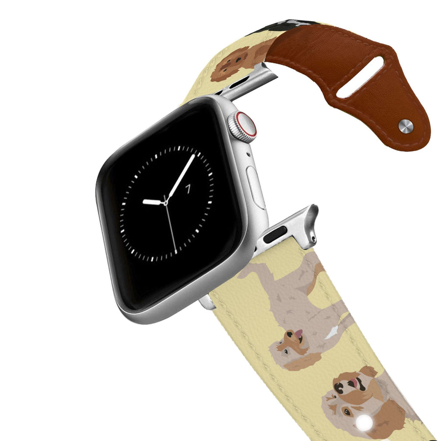 Cockapoo Leather Apple Watch Band Apple Watch Band - Leather C4 BELTS