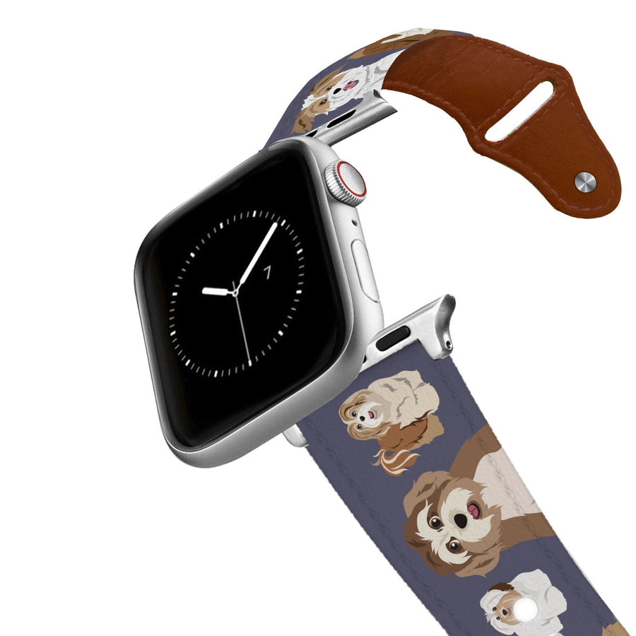 Havanese Leather Apple Watch Band Apple Watch Band - Leather C4 BELTS