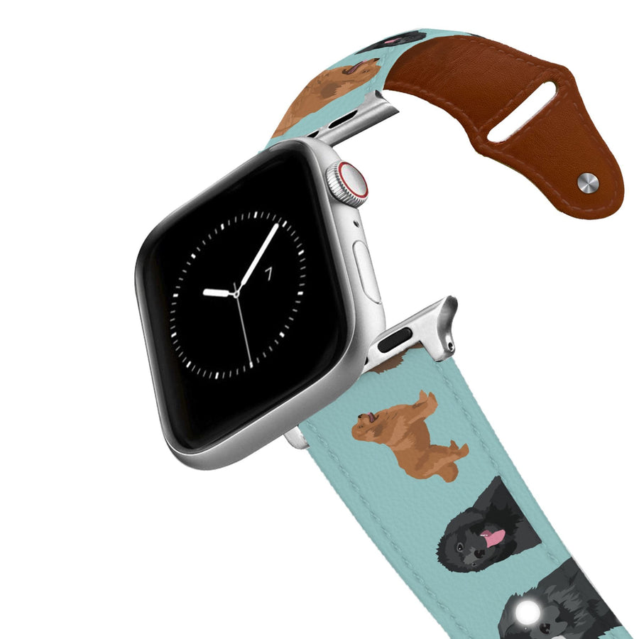 Newfoundland Apple Leather Watch Band Apple Watch Band - Leather C4 BELTS