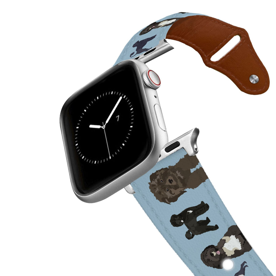 Portuguese Water Dog Leather Apple Watch Band Apple Watch Band - Leather C4 BELTS