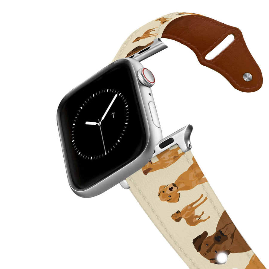Rhodesian Ridgeback Leather Apple Watch Band Apple Watch Band - Leather C4 BELTS