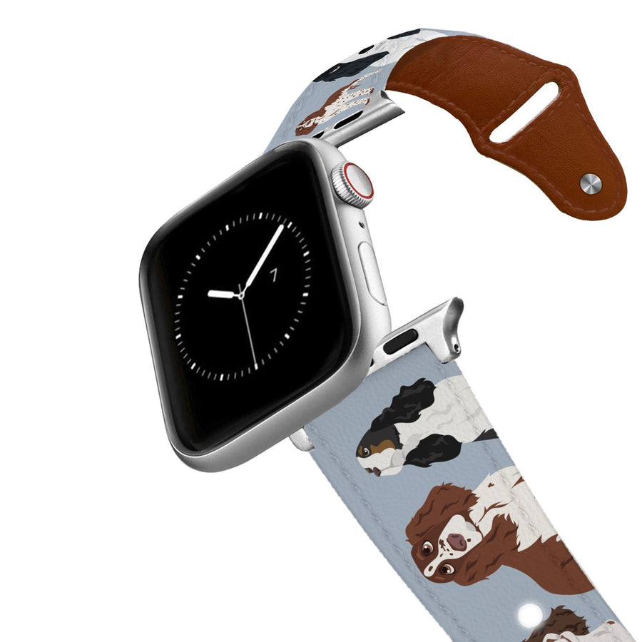 Springer Spaniel Leather Apple Watch Band Apple Watch Band - Leather C4 BELTS