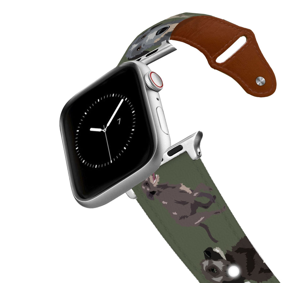 Irish Wolfhound Leather Apple Watch Band Apple Watch Band - Leather C4 BELTS