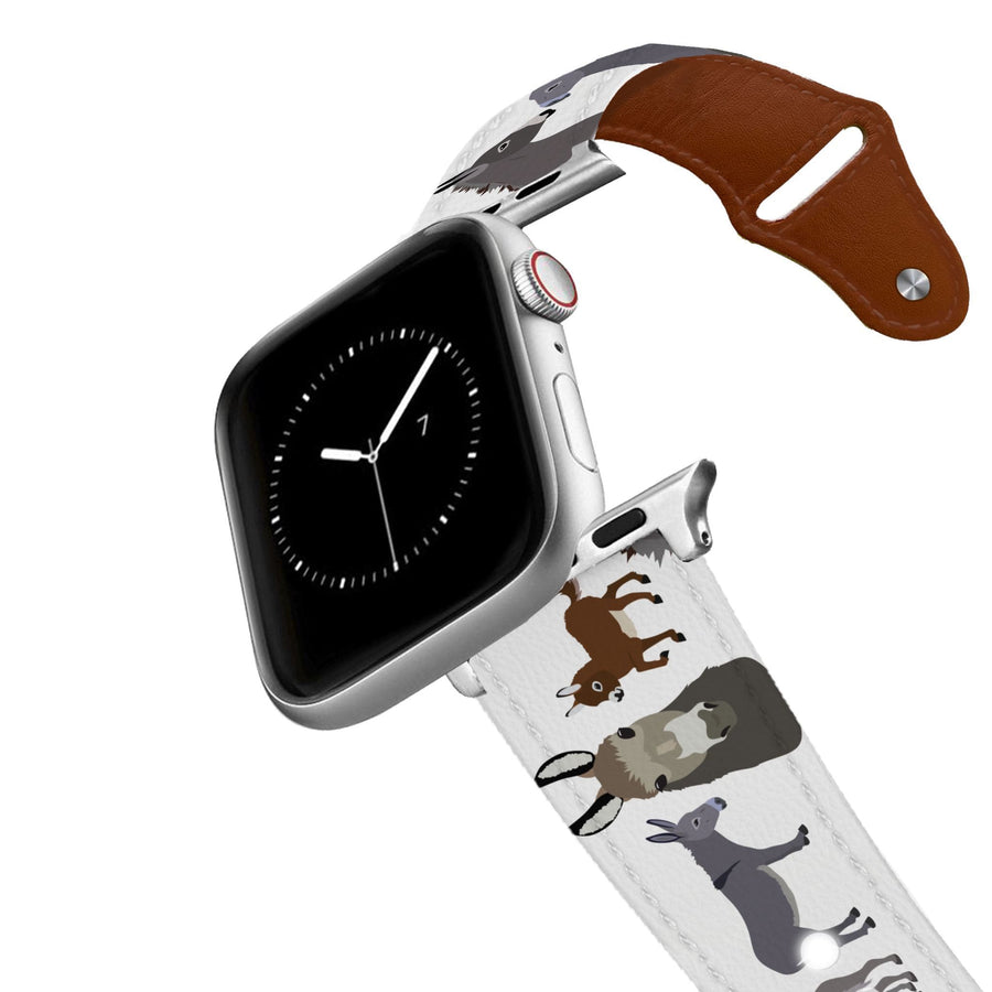 Donkeys Leather Apple Watch Band Apple Watch Band - Leather C4 BELTS