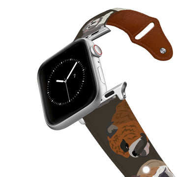 Bulldog Leather Apple Watch Band Apple Watch Band - Leather C4 BELTS