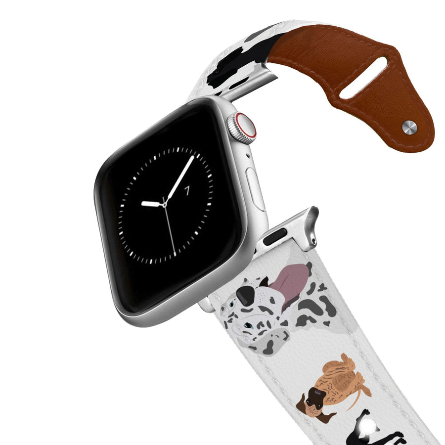 Great Dane Leather Apple Watch Band Apple Watch Band - Leather C4 BELTS
