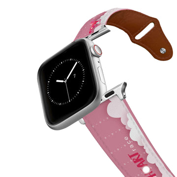 You Make My Heart Race Leather Apple Watch Band Apple Watch Band - Leather C4 BELTS