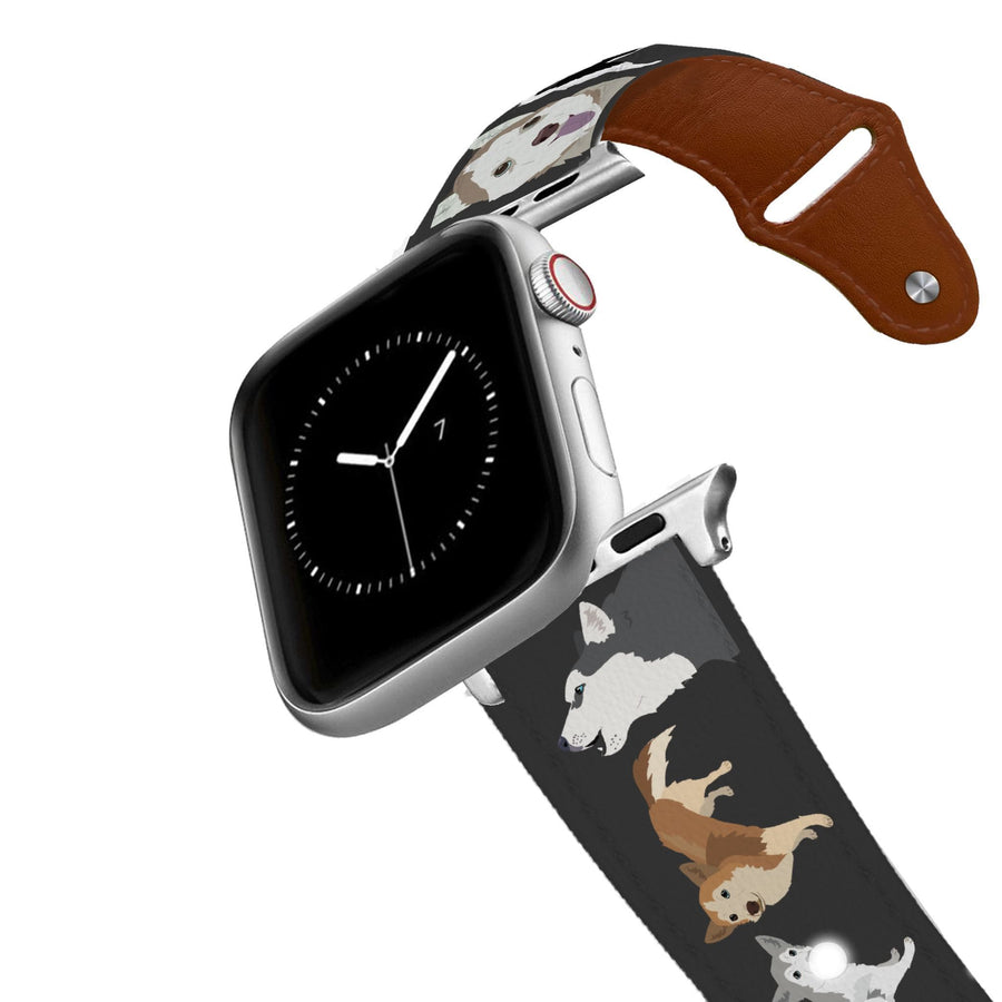 Husky Leather Apple Watch Band Apple Watch Band - Leather C4 BELTS