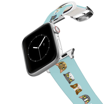 Kitty Faces Apple Watch Band Apple Watch Band C4 BELTS