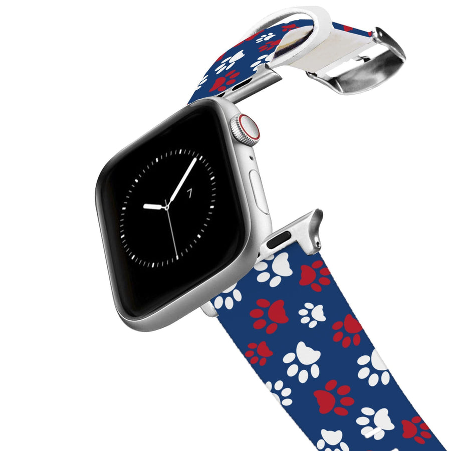 Pawtriot Navy Apple Watch Band Apple Watch Band C4 BELTS