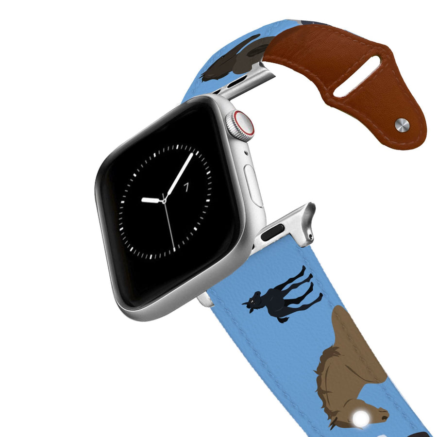 Percherons Leather Apple Watch Band Apple Watch Band - Leather C4 BELTS
