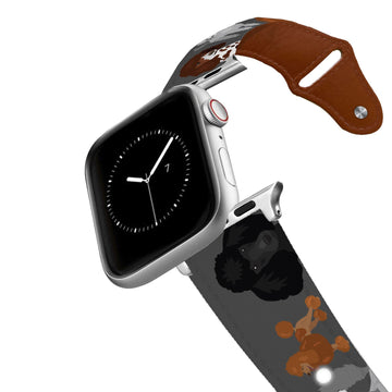 Poodle Leather Apple Watch Band Apple Watch Band - Leather C4 BELTS