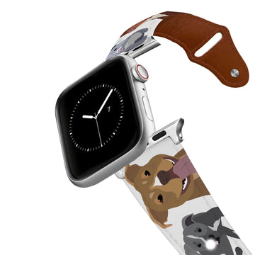 Pitbull Leather Apple Watch Band Apple Watch Band - Leather C4 BELTS