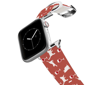 Wine and Feline Apple Watch Band Apple Watch Band C4 BELTS
