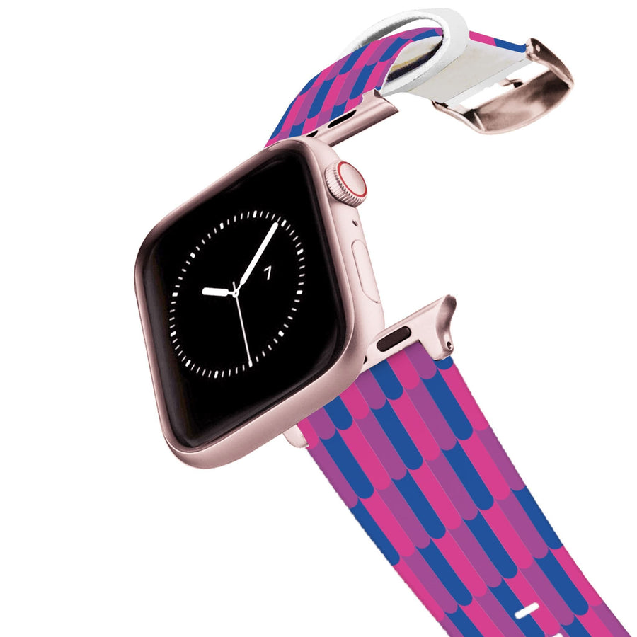 Bi Flag Retro Apple Watch Band Apple Watch Band C4 BELTS