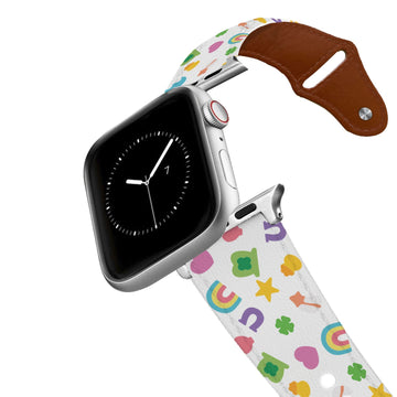Charmed Leather Apple Watch Band Apple Watch Band - Leather C4 BELTS