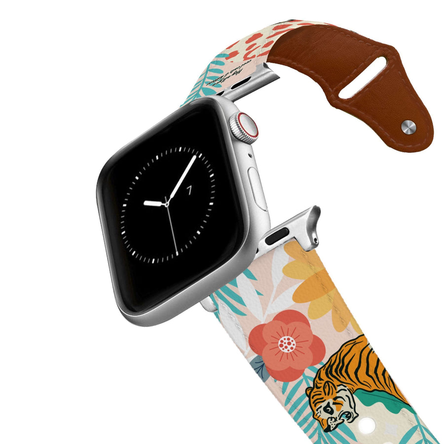 Hey Cool Cats Leather Apple Watch Band Apple Watch Band - Leather C4 BELTS